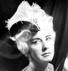 """La Maréchale (""""Le Chevalier à la Rose"""" à l'Opéra de Munich en 1962)"""