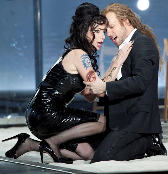 Nadja Michael (Médée) & John Tessier (Jason) - Marion Kalter