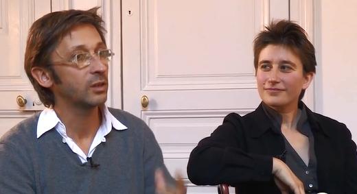 Geoffroy Jourdain et Anne Le Bozec en répétition