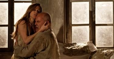 Barbara Hannigan (Agnès) et Christopher Purves (Le Protector). DR J. Etienne