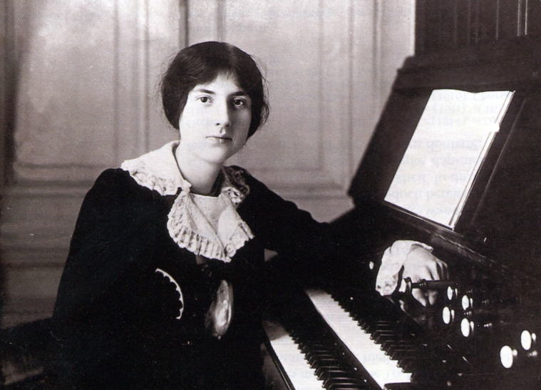 Lili Boulanger vers 1900