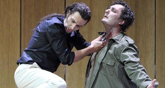 Jonas Kaufmann & Ludovic Tézier (© Opéra de Munich)