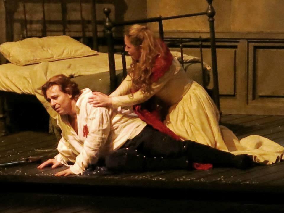 """Roberto Alagna & Karine Deshayes (""""Werther"""" à l'Opéra Bastille - © Julien Benhamou)"""