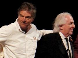 Benoît Jacquot & Christian Gasc (© Simon Parris)