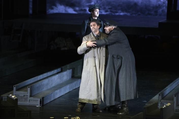 Jason Howard & Kristinn Sigmundsson (© Alain Kaiser / Opéra du Rhin)