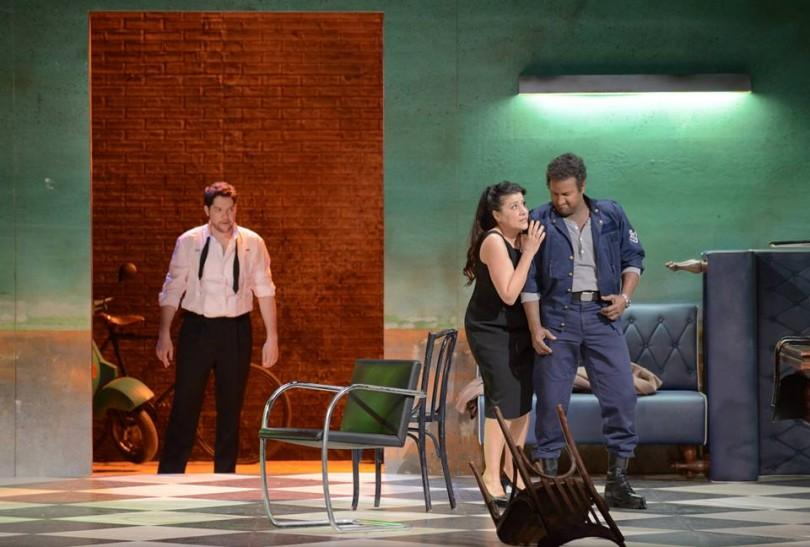 Edgardo Rocha (Rodrigo), Cecilia Bartoli (Desdémone), John Osborn (Otello) - (DR)