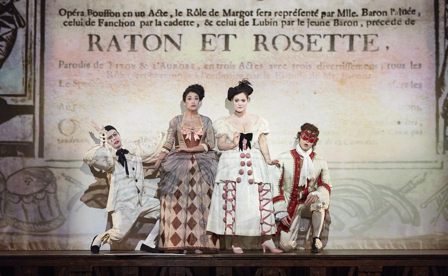 Sandrine Buendia et Eléonore Pancrazi, Ronan Dubois et Vianney Guyonnet
