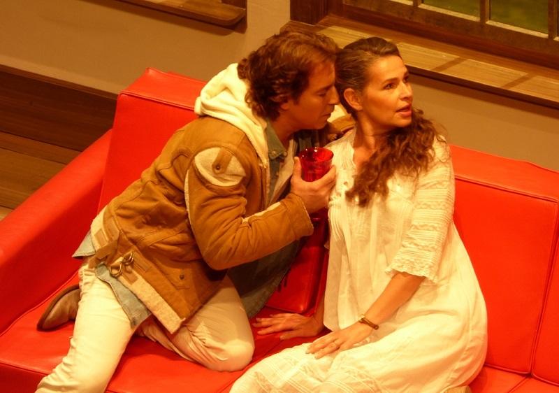 Roberto Alagna (Lancelot) & Sophie Koch (Genièvre) à l'Opéra-Bastille (Ph. Fomalhaut)