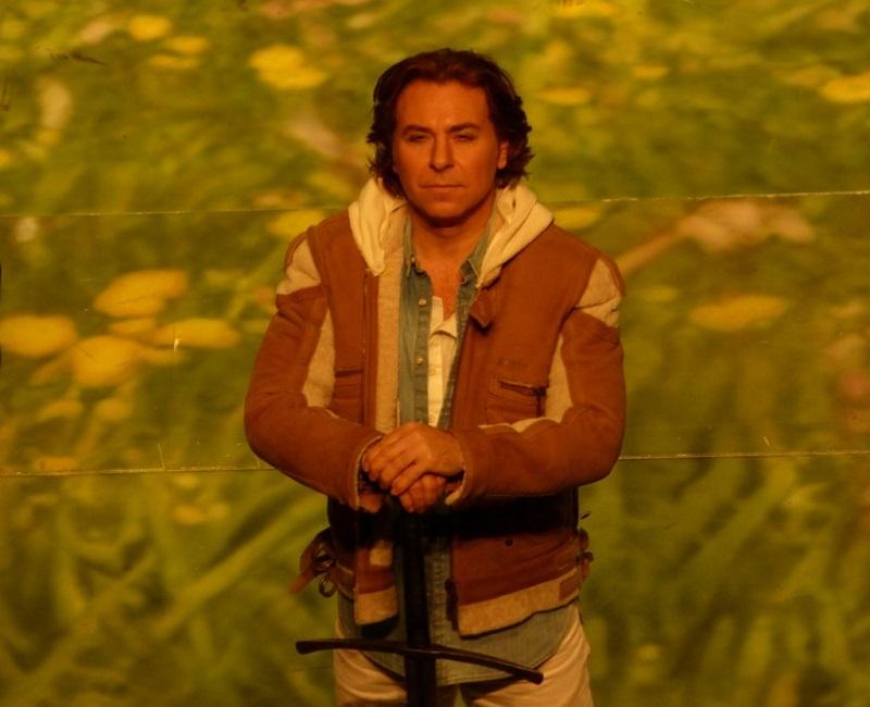 "Roberto Alagna (Lancelot) dans ""Le Roi Arthus"" (Ph. Fomalhaut)"
