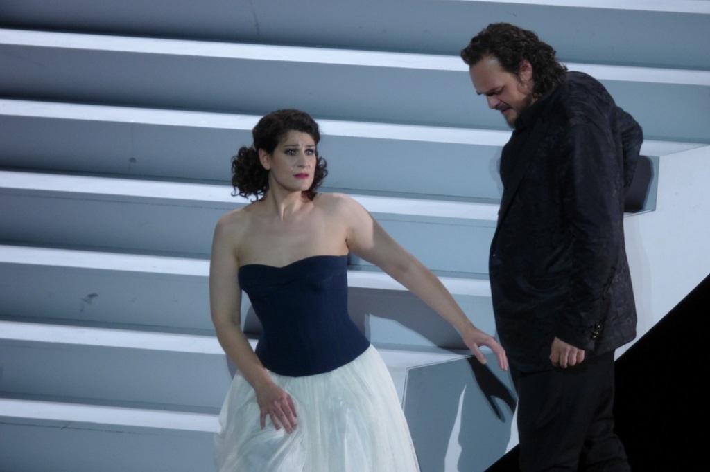Anja Harteros (Arabella) & Thomas Johannes Mayer (Mandryka) / Opéra de Munich © Wilfried Hösl