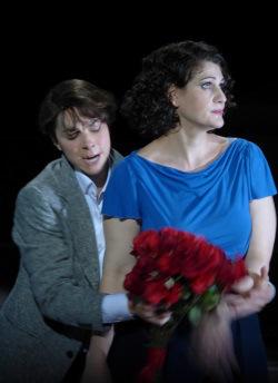 Hanna-Elisabeth Müller (Zdenka) et Anja Harteros (Arabella) / Opéra de Munich © Wilfried Hösl