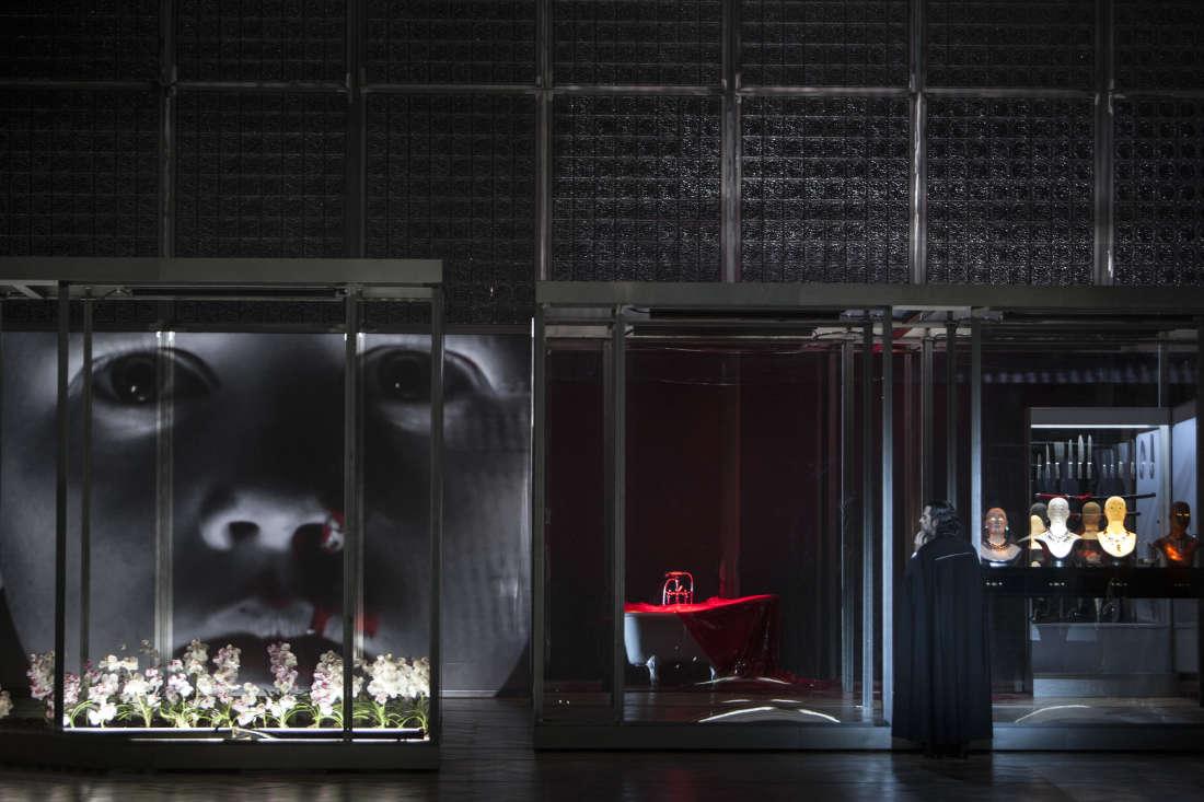 John Relyea (Barbe-Bleue) / © Bernd Uhlig / Opéra National de Paris