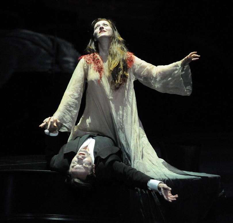 """La Traviata"" : Patrizia Ciofi (Violetta) / © Alain Kaiser (Opéra National du Rhin)"