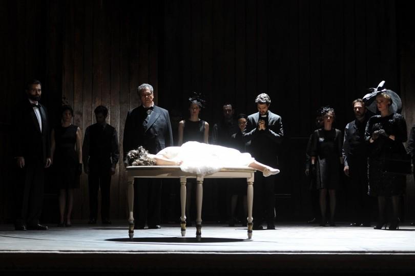"""""""Orfeo"""" de Rossi : Tous pleurent la mort d'Eurydice (© Opéra National de Lorraine)"""