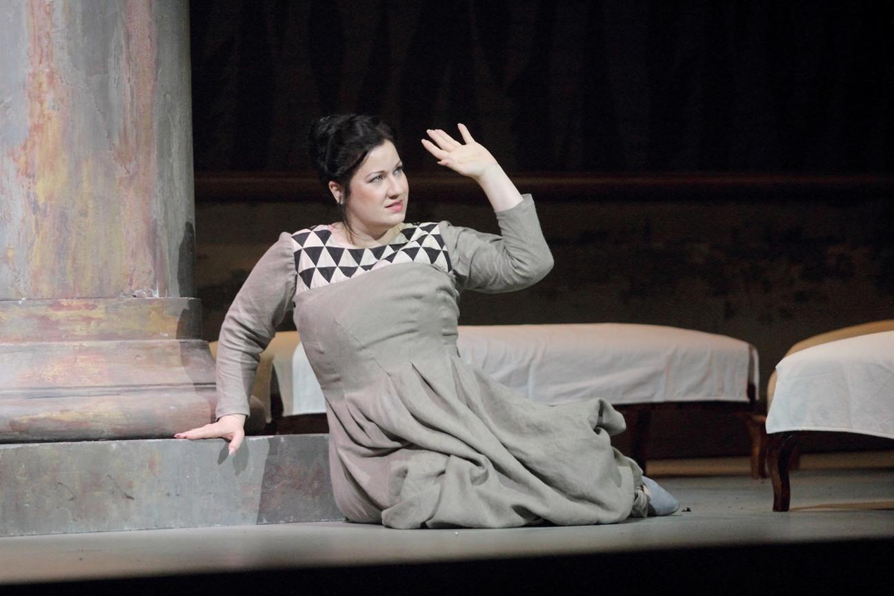 Csilla Boross (Lady Macbeth) / © Christian Dresse / Opéra de Marseille