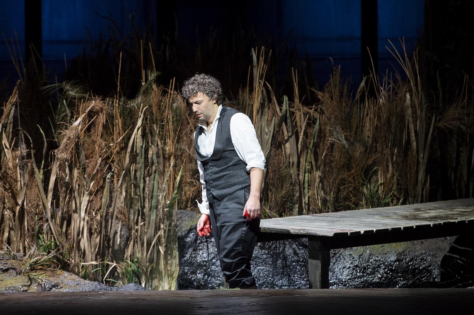 Jonas Kaufmann (Lohengrin) / © Monika Rittershaus (Opéra national de Paris)
