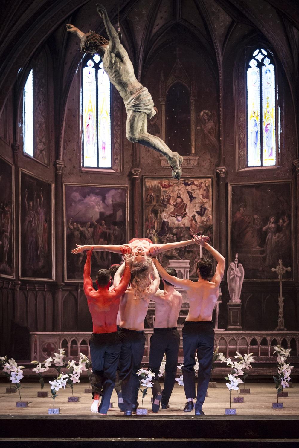 "Danse des 7 voiles (""Salomé"") / © Klara Beck (Opéra National du Rhin)"