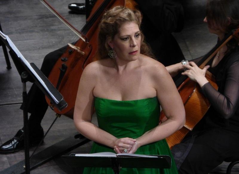 Sondra Radvanovsky (Amelia Grimaldi) / Ph. fomalhaut