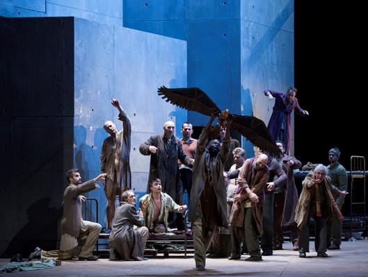 """""""De la maison des morts"""" de Janacek (© Opéra de Paris / Ros Ribas)"""