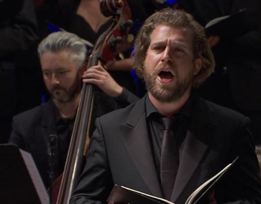 Julien Prégardien, Raphaël Pichon et son Ensemble Pygmalion à la Philharmonie de Paris (Image Culturebox)