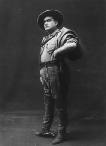 Caruso en 1911 dans « La Fille du Far West »