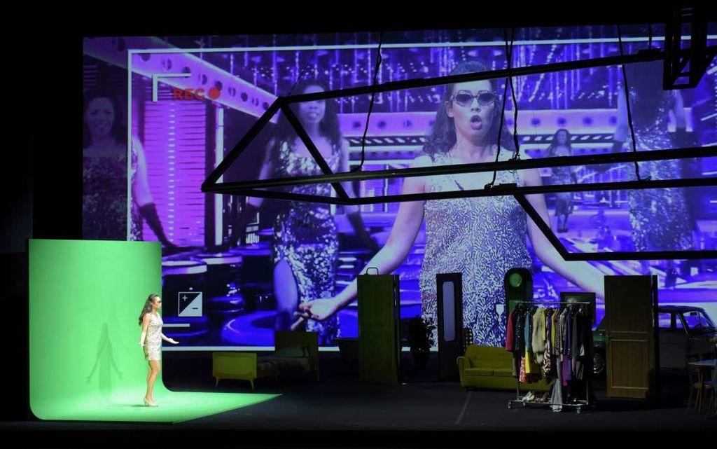 """Don Pasquale"" à l'Opéra Garnier (juin 2018) : Norina (Nadine Sierra) / © Vincent Pontet (OnP)"