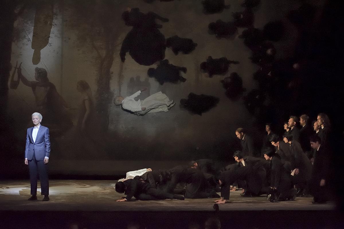 """""""Orphée et Eurydice"""" à l'Opéra-Comique (2018) : Marianne Crebassa (© Stefan Brion)"""