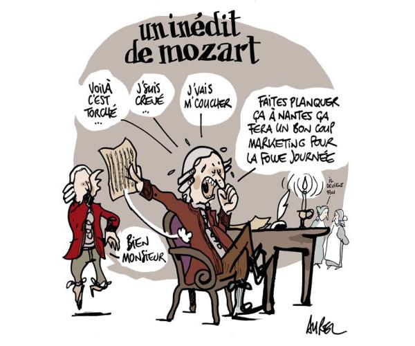 Un inédit de Mozart