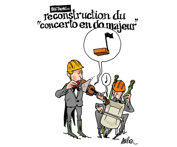 Reconstruction du concerto en do majeur