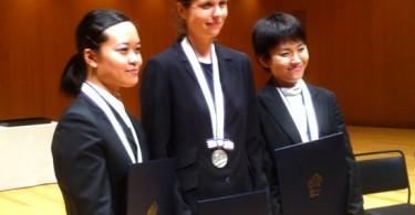 Mayana Ishizaki, Maja Metelska et Yuko Tanaka