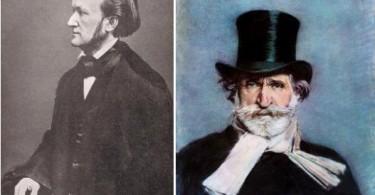 Les deux maîtres de l'opéra : Wagner (1813-1883) et Verdi (1813-1901)