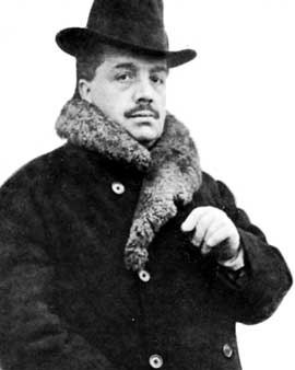 Serge Diaghilew, monumental, indestructible…