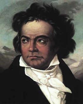 """Beethoven par Schimon, à l'époque de la """"Hammerklavier »"""