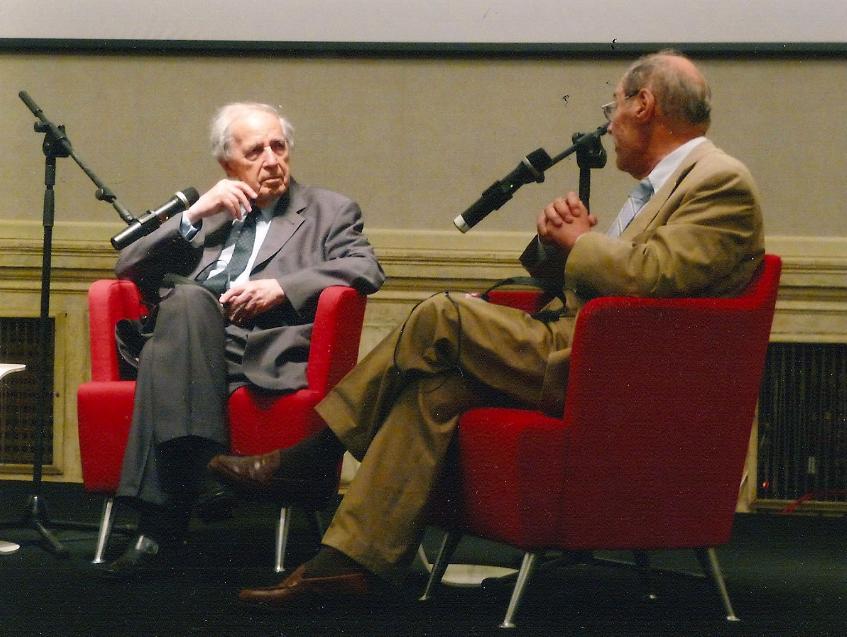 Conversation  en public à Venise – Biennale 2011 (Ph. Ralph Fassey)