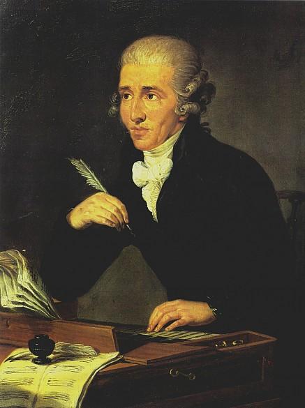 Haydn, le précurseur (peint par Ludwig Guttenbrunn)