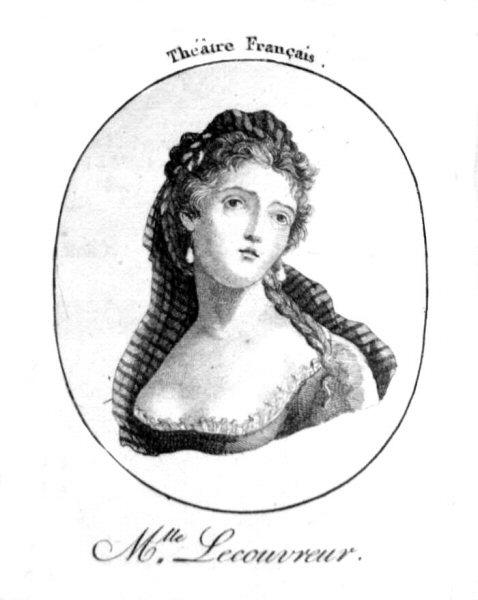 Les galants se précipitaient dans les entractes de la Comédie française.