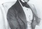 Otto Nicolai – Le père des « Joyeuses Commères de Windsor », le grand-père des « Viennois ». Lithographie de Joseph Kriehuber