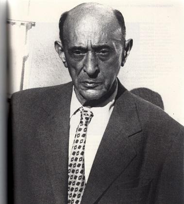 Arnold Schoenberg. Mystère, pourquoi, pendant vingt ans, n'a-t-il pas composé la musique du troisième acte dont il avait rédigé le texte? (Ph. Belmont Music Publisher)
