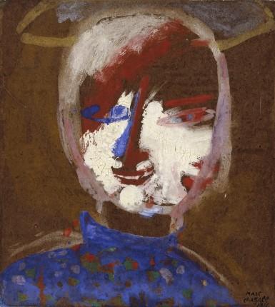 Marc Chagall : Autoportrait (d'un peintre mélomane) – 1911 (ADAGP-Paris 2015)
