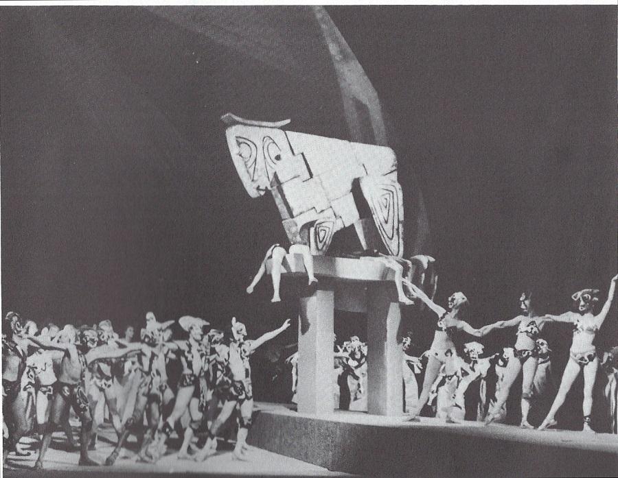 Berlin 1959 - Mise en scène de Gustav Rudolf Sellner - Décors et costumes du français Michel Raffaelli