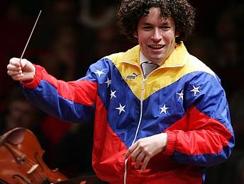 Gustavo Dudamel, chef vénézuélien et vedette internationale sur Arte, le 13 novembre