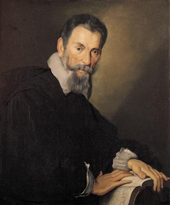 Claudio Monteverdi (1567-1643). S'il n'a pas inventé l'opéra, il en est chronologiquement le premier génie. Portrait par Bernardo Strozzi – vers 1630.