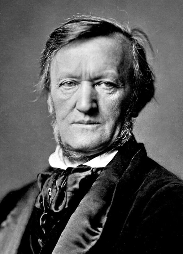 Richard Wagner (1813-1883), ici en 1871, odieux et fascinant, à l'orée d'un temps nouveau (1871). Ph. Franz Hanfstaengl