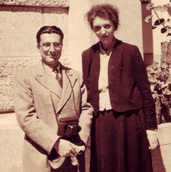 Deux artistes d'exception, qui conjuguèrent l'exigence et la modestie : Dinu Lipatti et Clara Haskil (DR)