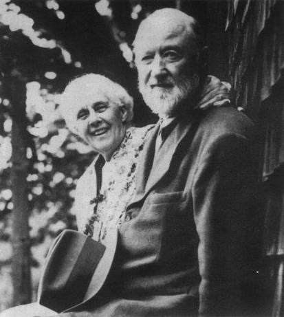 Charles Ives et Harmonie, son épouse (DR)