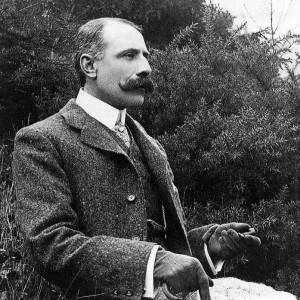 Sir Edward Elgar (1857-1934). So british ! (DR)