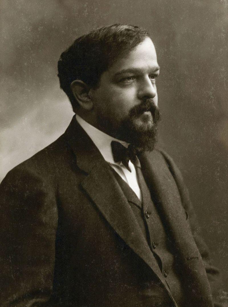 Claude Debussy (1862-1918) Une (superbe) photo signée Nadar !