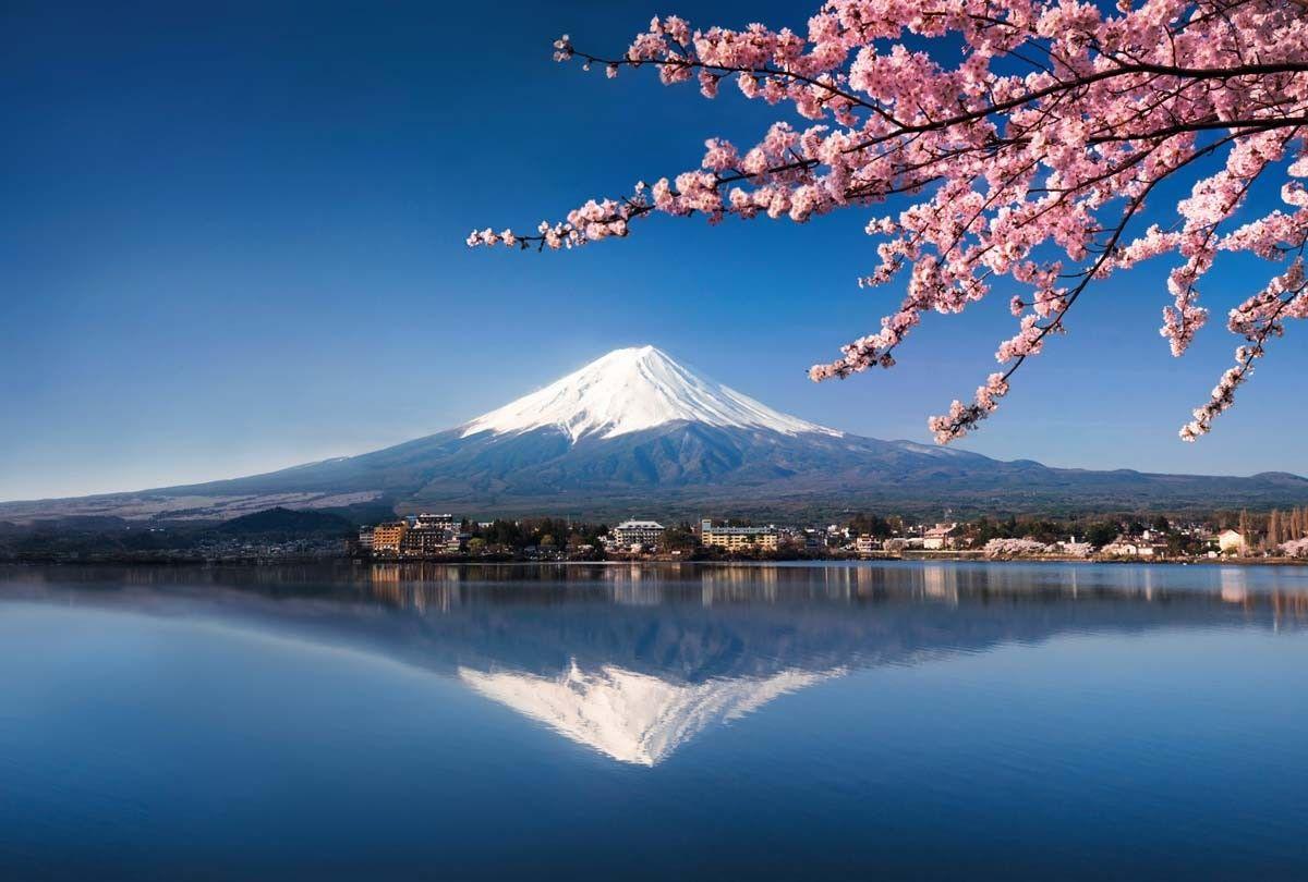 Papier peint du Mont Fuji (DR)