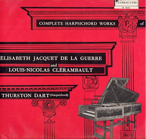uite pour clavecin n° II en sol d'Elisabeth Jacquet de la Guerre