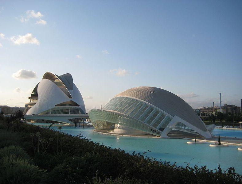 Le Palais des Arts Reine Sofía à Valence
